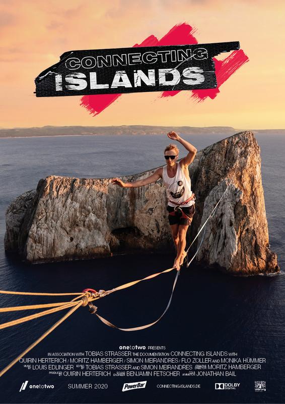 connecting islands slackline