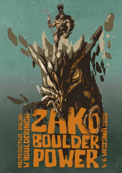 ZAKO BOULDER POWER POSTER